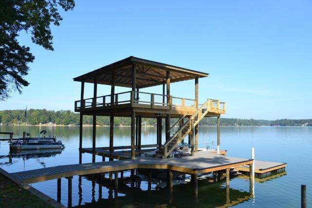 Lake Martin Dock 2 Story Boathouse 11