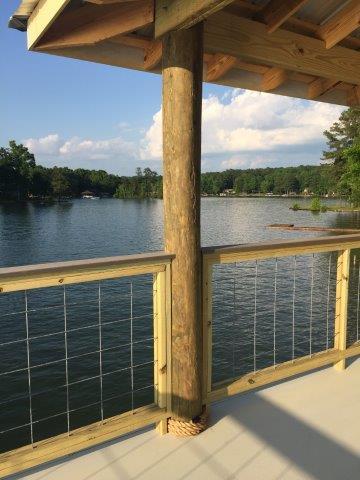 Lake Martin Dock 2 Story Boathouse 22