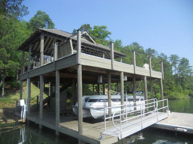 Lake Martin Dock 2 Story Boathouse 3