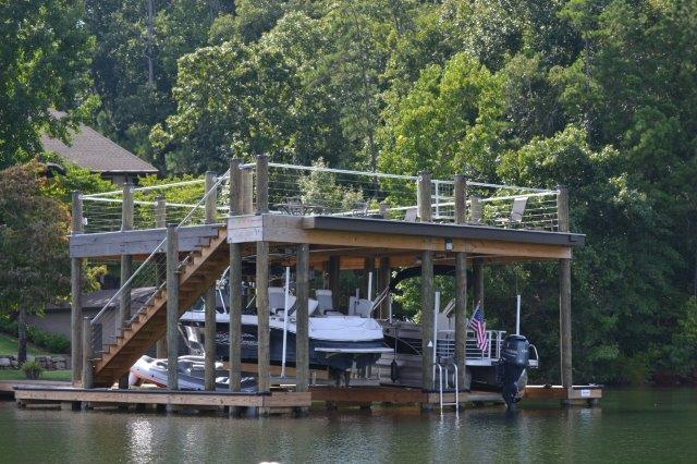 Boathouses Lake Martin Dock Company
