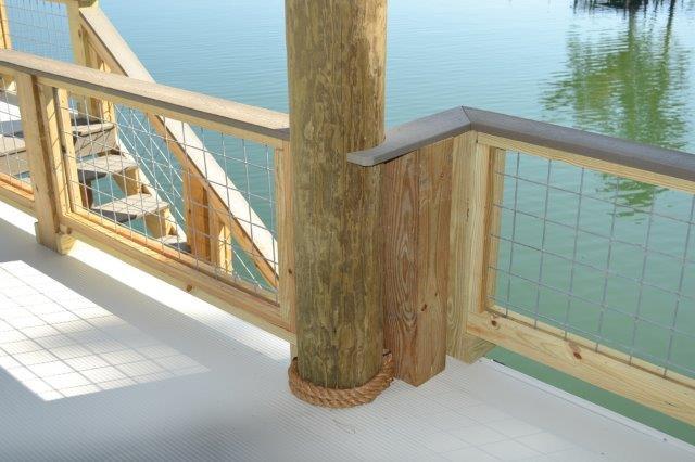 Lake Martin Dock 2 Story Boathouse 9