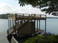 Lake Martin Dock 2 Story Boathouse 12
