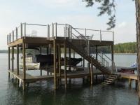 Lake Martin Dock 2 Story Boathouse 15