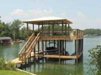 Lake Martin Dock 2 Story Boathouse 20