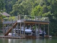 Lake Martin Dock 2 Story Boathouse 4