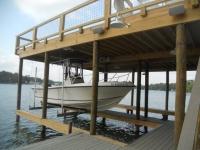 Lake Martin Dock 2 Story Boathouse 7