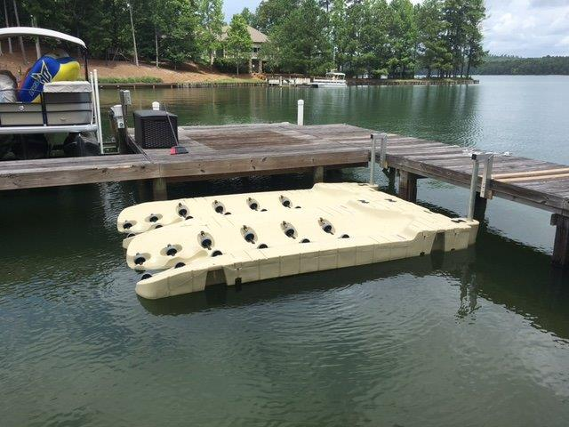 EZ Port Lake Martin Dock 9