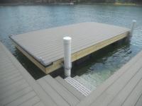 Floating Dock - Spud Poles