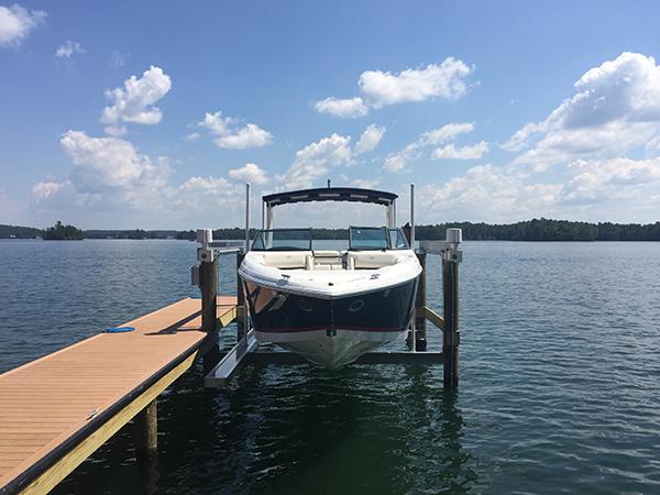 4-Post Boat Lift (Lake Martin Dock Company) 1