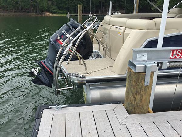 4-Post Boat Lift (Lake Martin Dock Company) 3