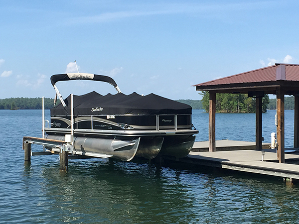 4-Post Boat Lift (Lake Martin Dock Company) 4