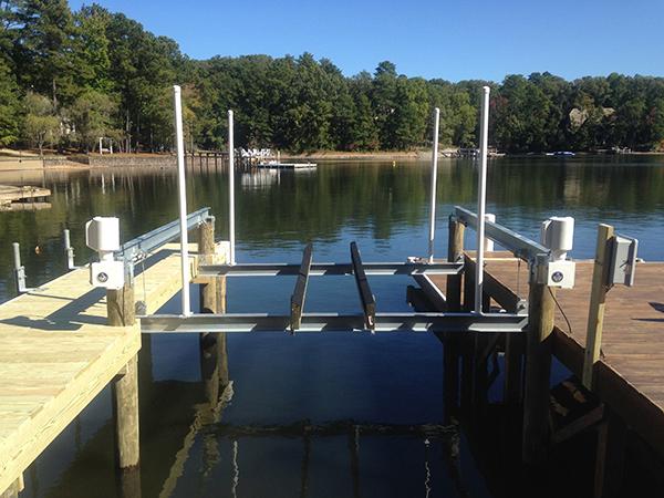 4-Post Boat Lift (Lake Martin Dock Company) 5