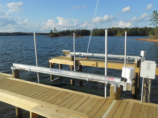 4-Post Boat Lift (Lake Martin Dock Company) 6