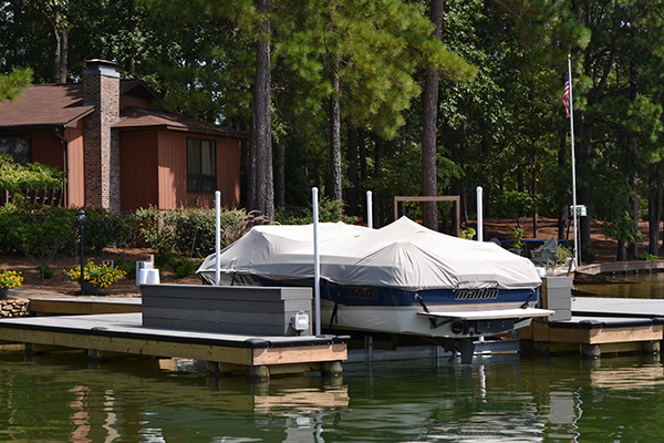 4-Post Boat Lift (Lake Martin Dock Company) 7
