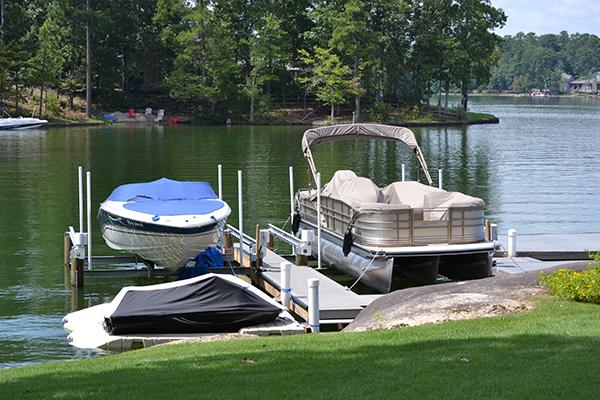 4-Post Boat Lift (Lake Martin Dock Company) 9