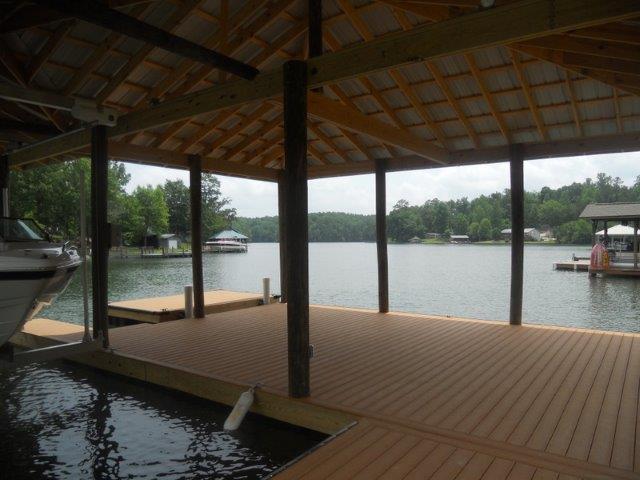 Lake Martin Dock Single Level Boathouse 20