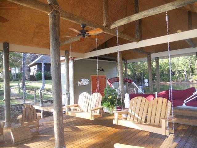 Lake Martin Dock Single Level Boathouse 26