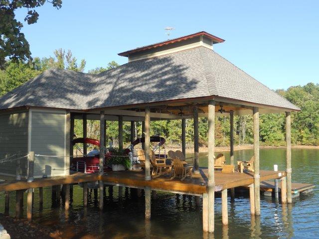 Lake Martin Dock Single Level Boathouse 28