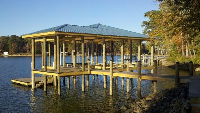Lake Martin Dock Single Level Boathouse 3