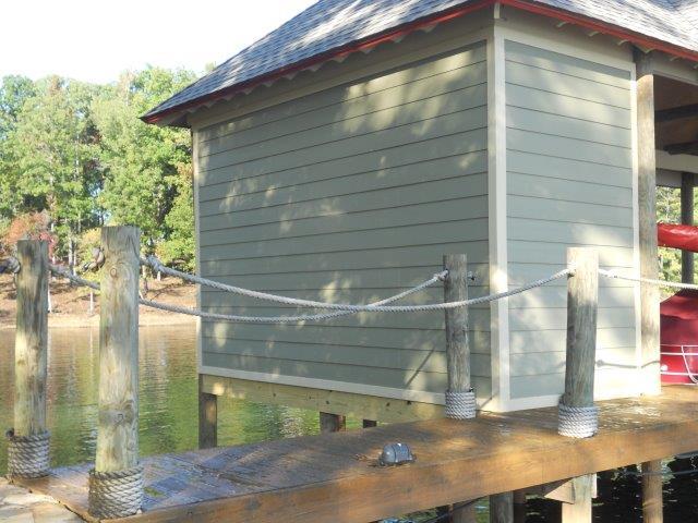 Lake Martin Dock Single Level Boathouse 30