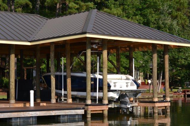 Lake Martin Dock Single Level Boathouse 9