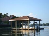 Lake Martin Dock Single Level Boathouse 12