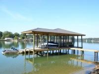 Lake Martin Dock Single Level Boathouse 14