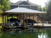 Lake Martin Dock Single Level Boathouse 16