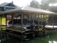 Lake Martin Dock Single Level Boathouse 17