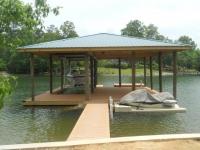 Lake Martin Dock Single Level Boathouse 19