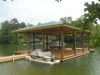 Lake Martin Dock Single Level Boathouse 21