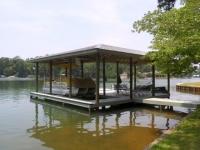 Lake Martin Dock Single Level Boathouse 22
