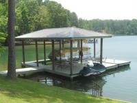 Lake Martin Dock Single Level Boathouse 23