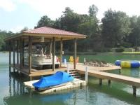 Lake Martin Dock Single Level Boathouse 25
