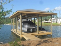 Lake Martin Dock Single Level Boathouse 33