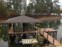 Lake Martin Dock Single Level Boathouse 34