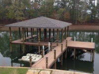 Lake Martin Dock Single Level Boathouse 35
