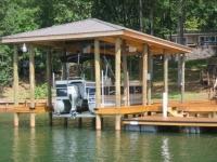 Lake Martin Dock Single Level Boathouse 38