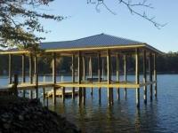 Lake Martin Dock Single Level Boathouse 4
