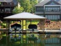 Lake Martin Dock Single Level Boathouse 40