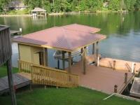 Lake Martin Dock Single Level Boathouse 6
