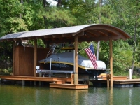 Lake Martin Dock Single Level Boathouse 8