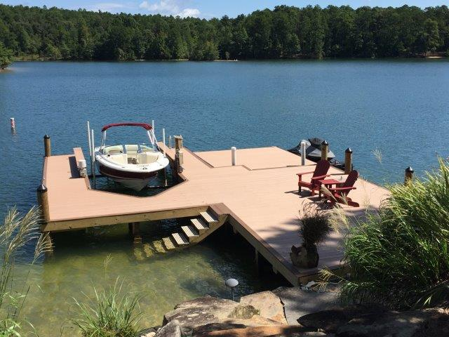 Lake Martin Dock Stationary Dock 10