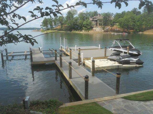 Lake Martin Dock Stationary Dock 14