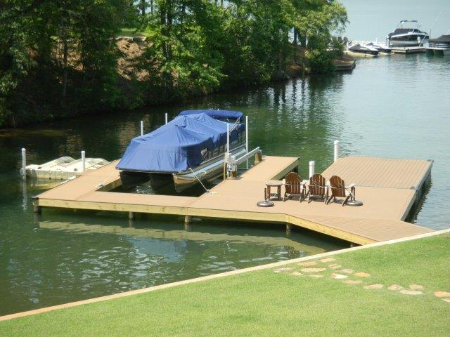 Lake Martin Dock Stationary Dock 15