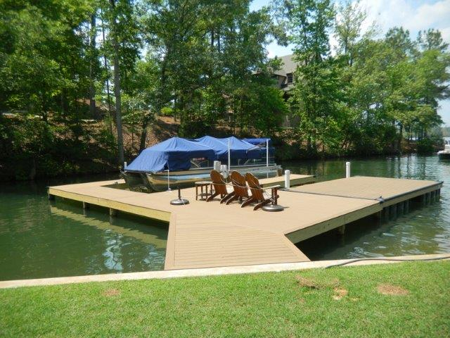 Lake Martin Dock Stationary Dock 16