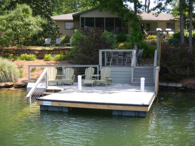Lake Martin Dock Stationary Dock 17