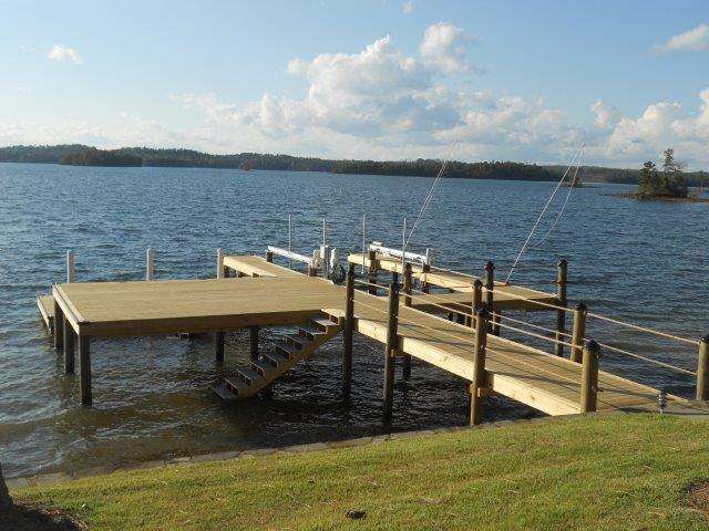 Lake Martin Dock Stationary Dock 18