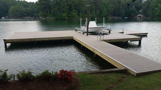 Lake Martin Dock Stationary Dock 21