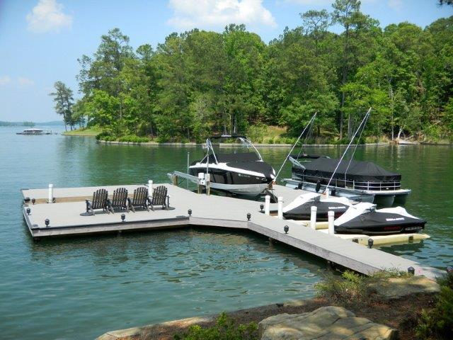 Lake Martin Dock Stationary Dock 22